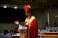 Church of the Holy Comforter -- Bishop Shannon visit