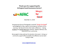 2016-12-21 AFAC Food Collection Happy Hour